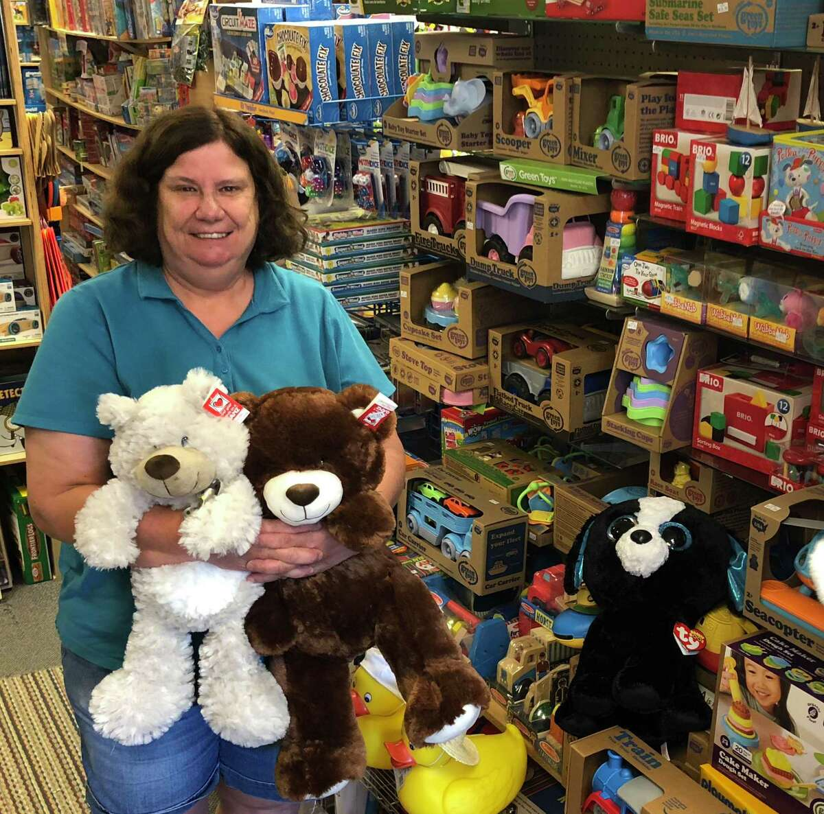Spectrum/Nordica Toys on Main Street in New Milford has been a staple in town for several decades. The store is celebrating its 40th anniversary.