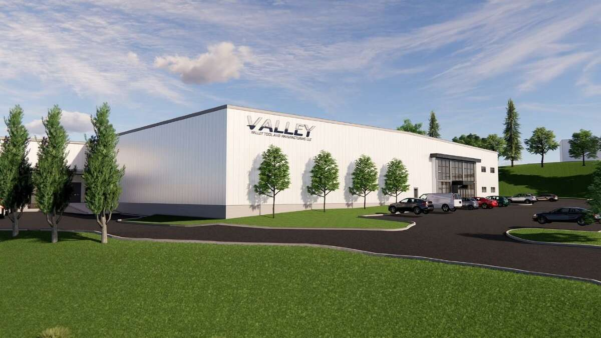 An artist's rendition of what the new Valley Tool & Manufacturing building in Milford will look like.