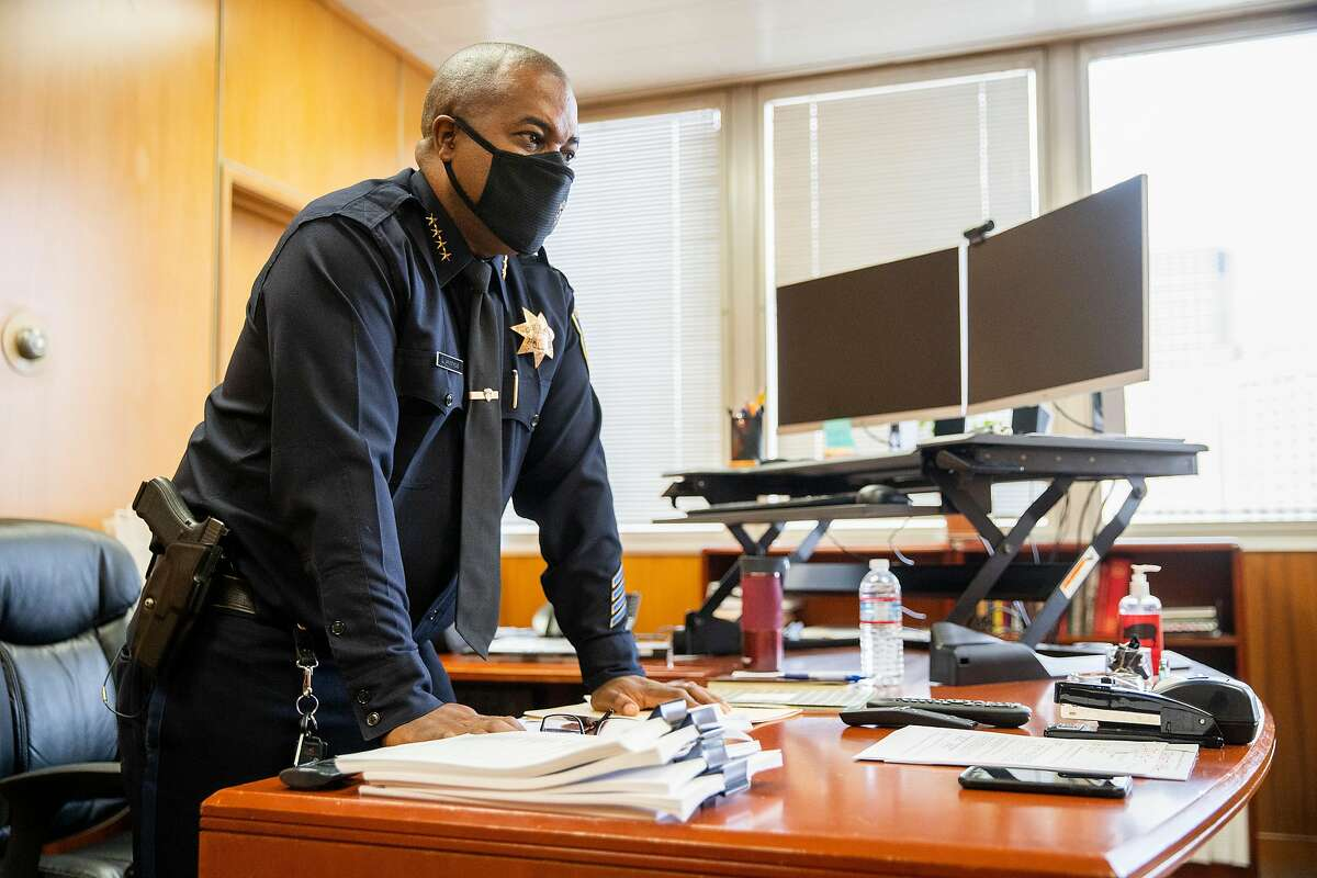 """Oakland Police Chief LeRonne Armstrong calls for asking the question in any situation: """"Do you need to use force at all?"""""""