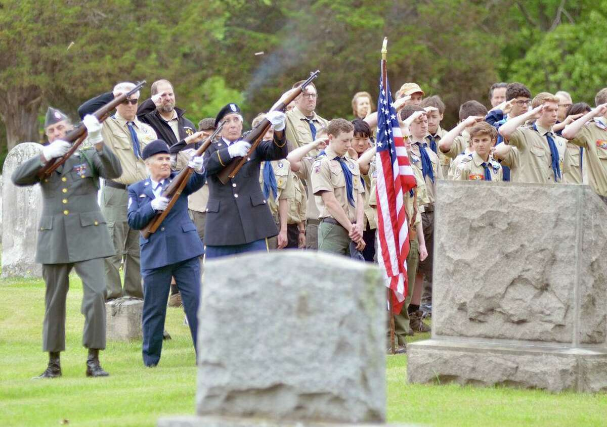 File photo: Madison's Memorial Day remembrance in 2018.