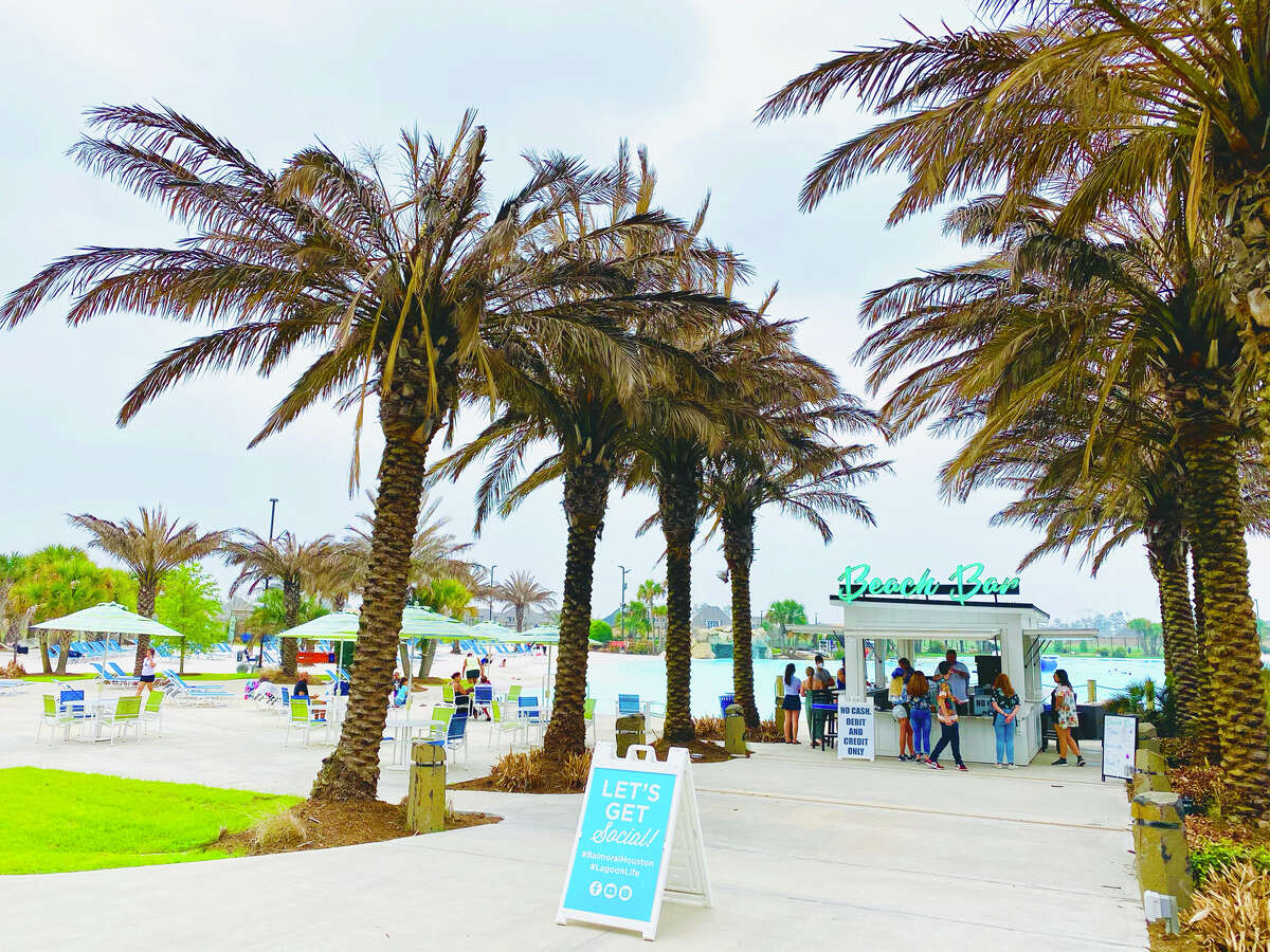 The 2-acre oasis is offering the lagoon lifestyle to Houstonians for $20 a ticket.