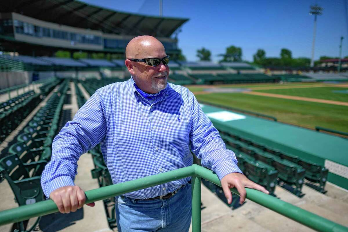 Burl Yarbrough, president of the SA Missions baseball team, is excited for the return of baseball after the 2020 season was wiped out due to the coronavirus epidemic.