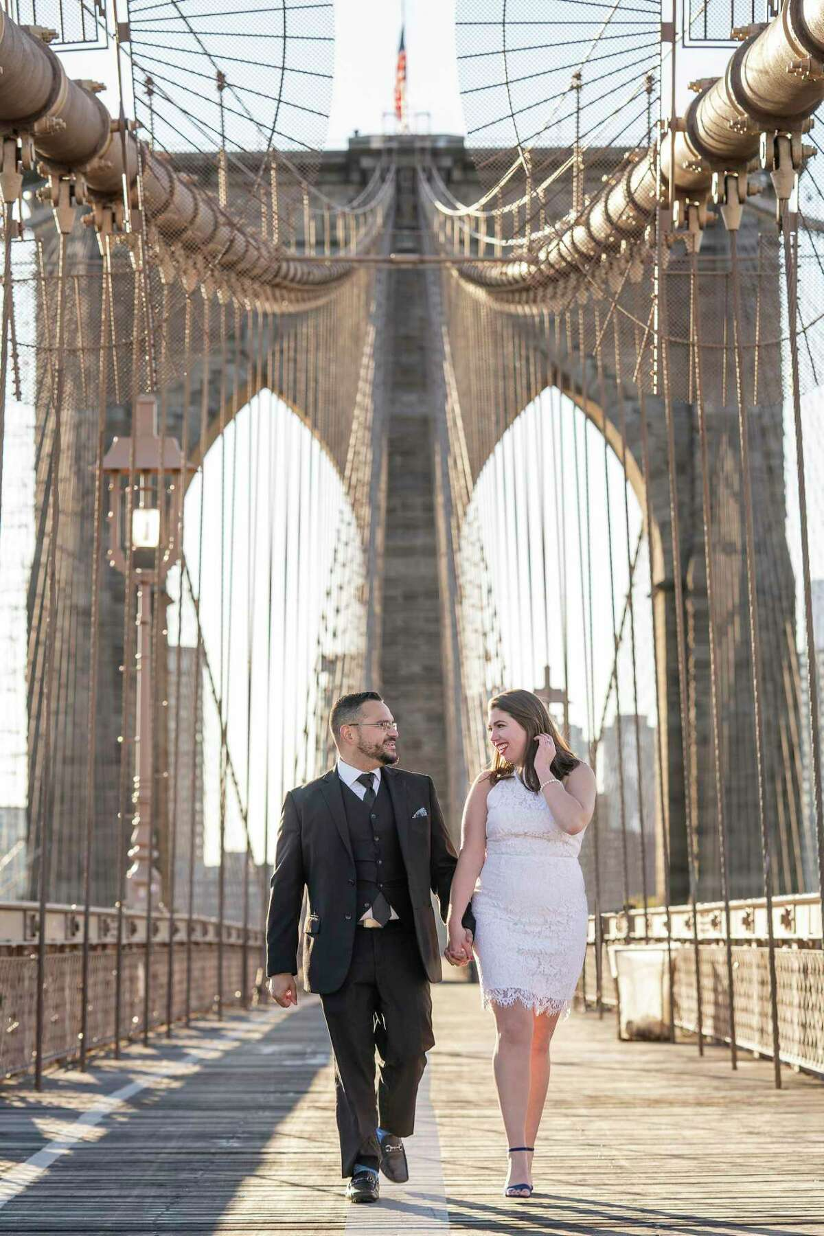 McKenna Crilley and her husband Frankie Morales have rescheduled their wedding reception three times during the COVID-19 pandemic. The couple is hopeful they'll be able to host the event, as planned, on their final date, scheduled for Dec. 17.