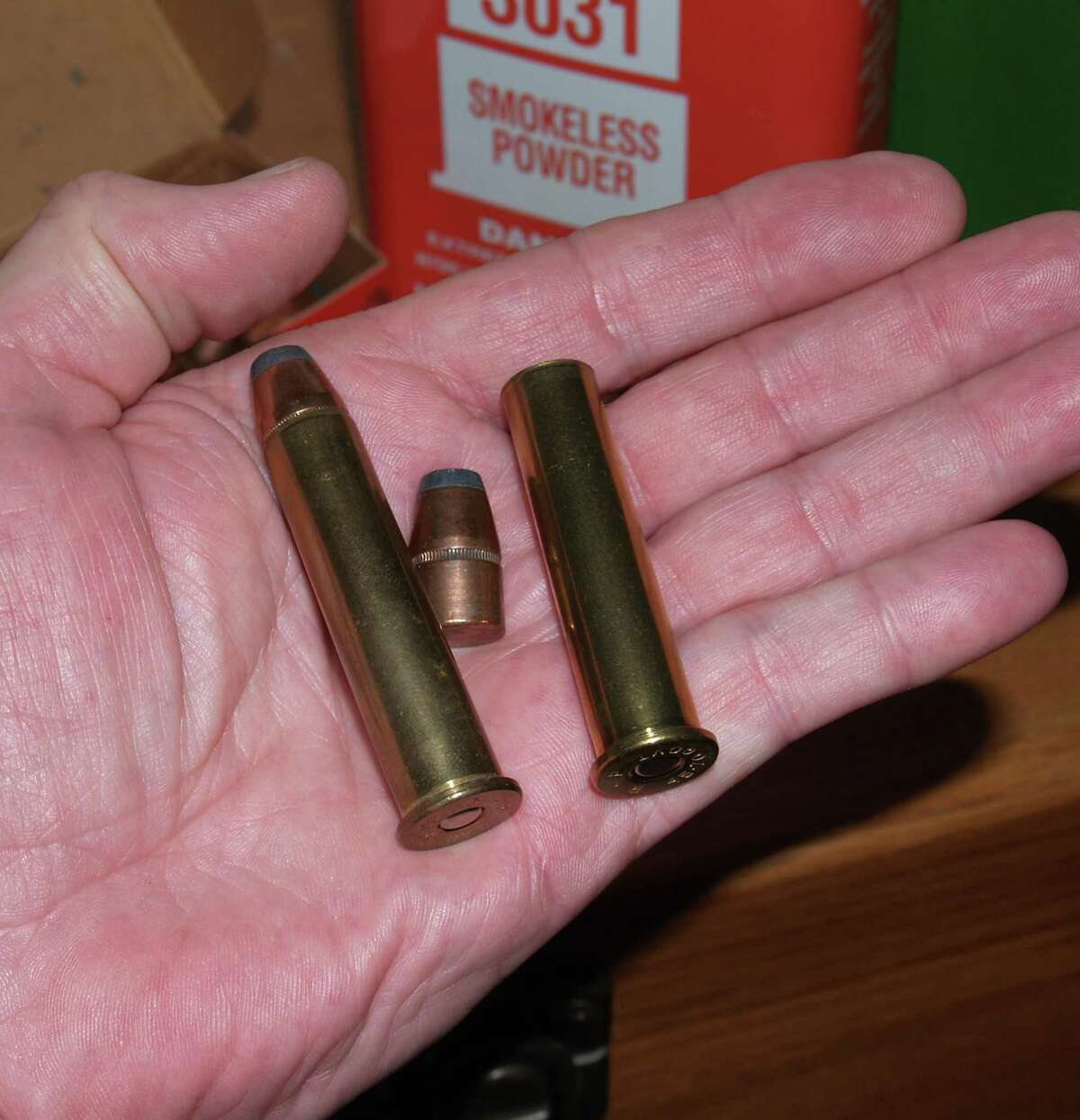 Loading ammunition can be rewarding when you can take the components and create the perfect load for your firearm like this 45-70 load of mine.