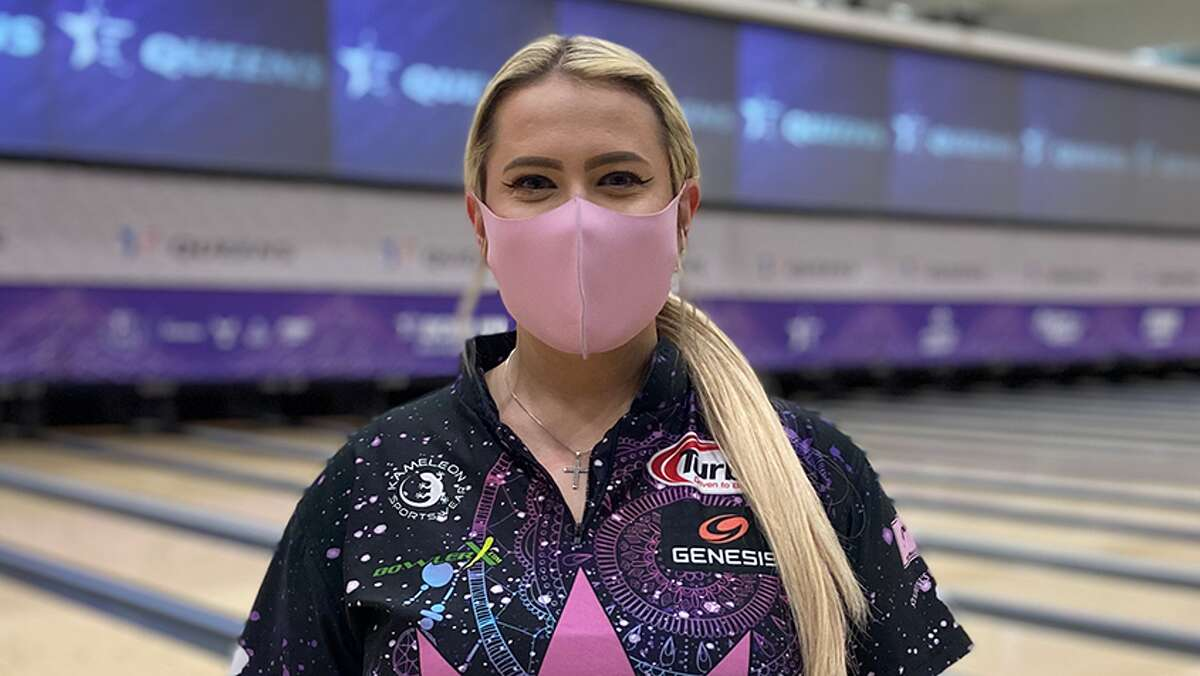 Liz Kuhlkin of Rotterdam qualified fourth and was the No. 2 seed heading into the stepladder finals of the USBC Queens on Tuesday, May 18, 2021, in Reno, Nev. (USBC photo)