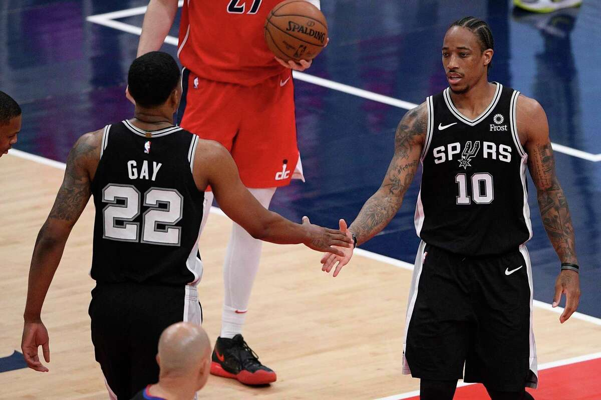 Rudy Gay and DeMar DeRozan have been great fits in San Antonio, but the veterans might look to chase a championship elsewhere next season.