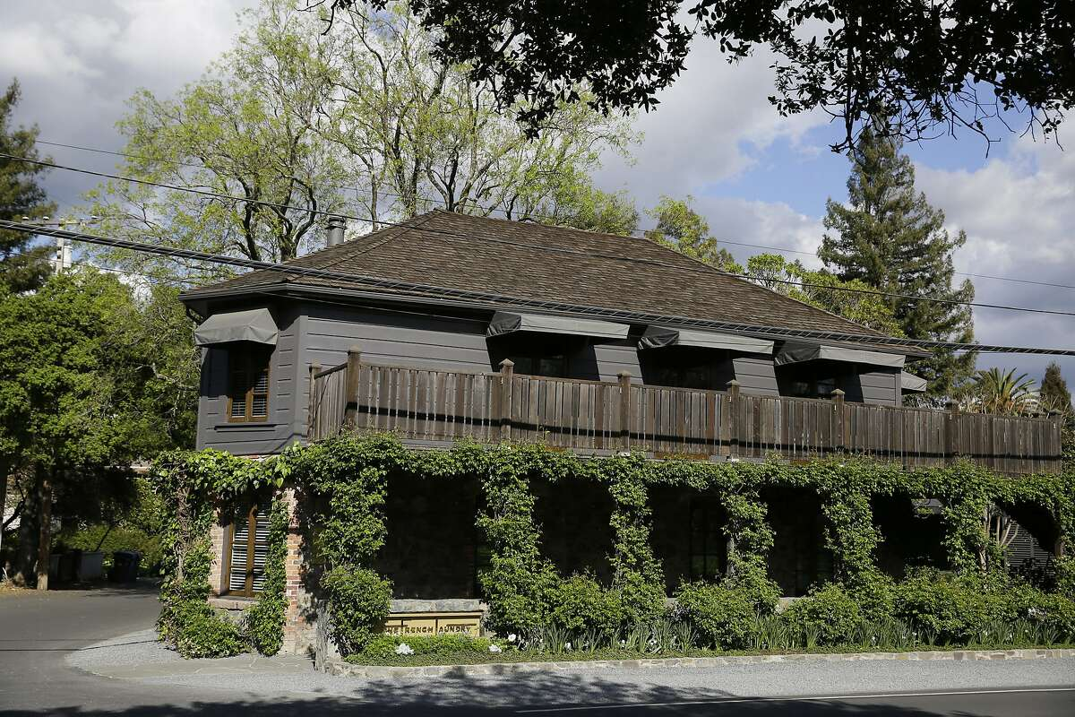 FILE - This Thursday, March 19, 2020 file photo, is The French Laundry restaurant in Yountville, Calif.