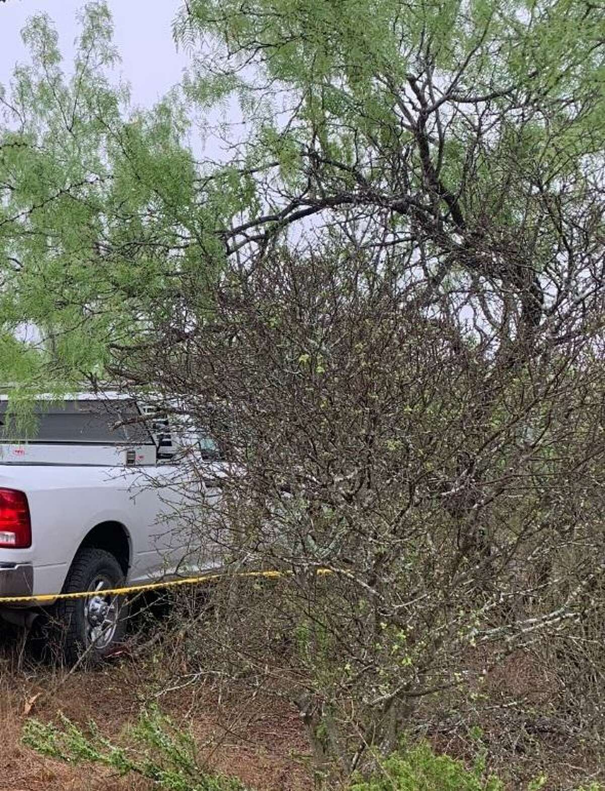 This white Dodge Ram 2500 was involved in a human smuggling attempt where a citizen of Mexico died on April 22 in northern Webb County. Authorities said the vehicle was reported stolen.