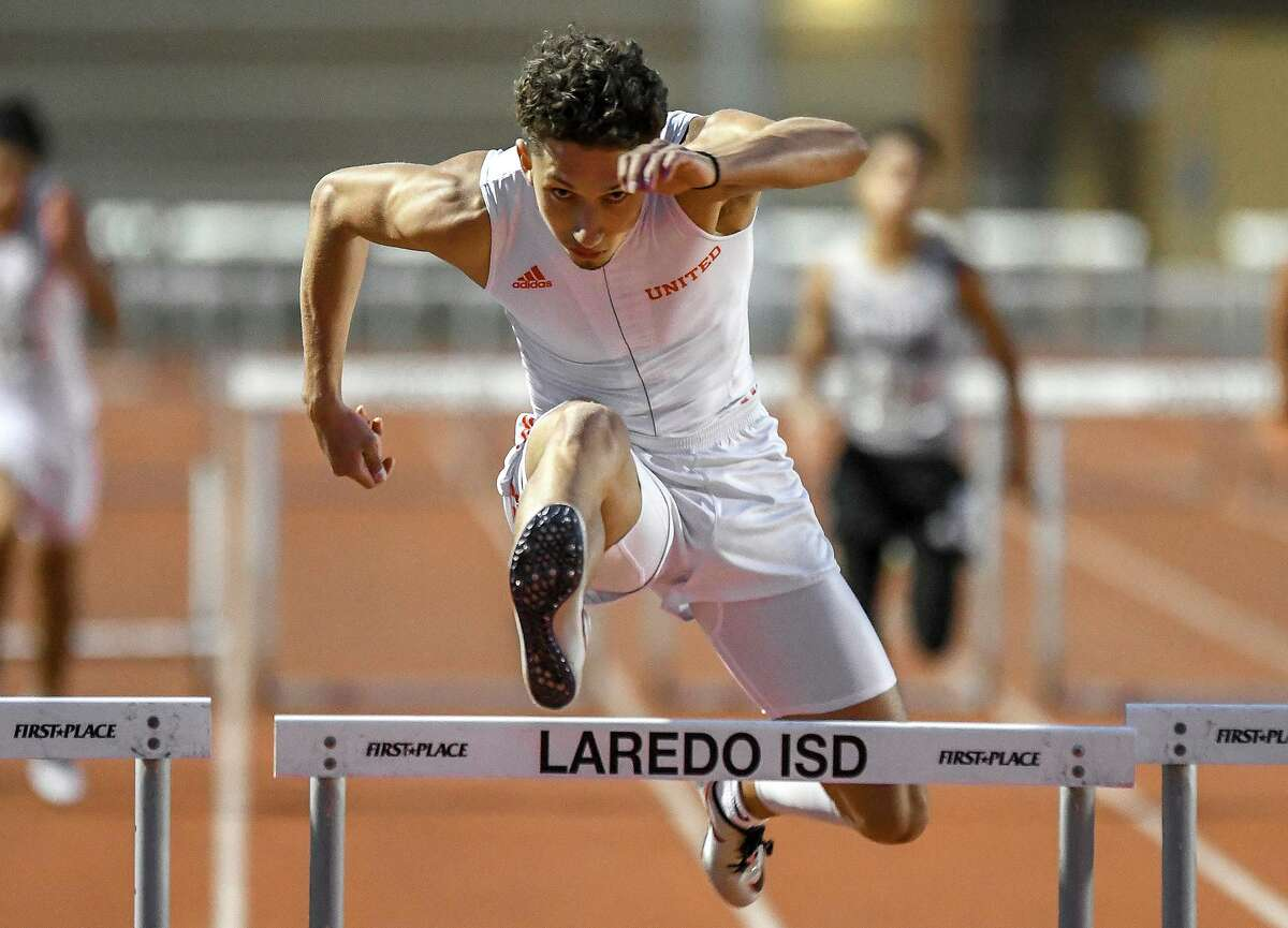 United's D'Carlo Calderon qualified for the Region IV-6A meet for the third time this year and placed fourth in the 300-meter hurdles.