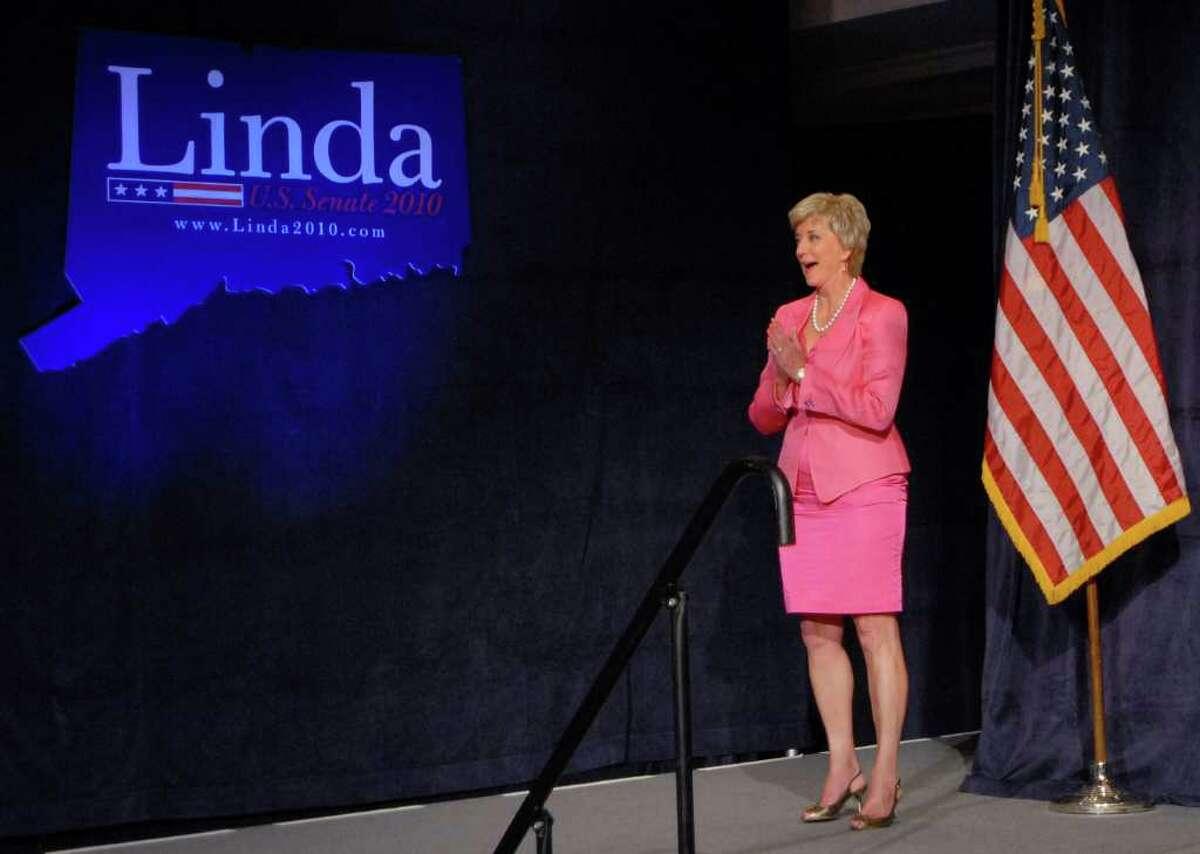 Republican candidate for the Senate Linda McMahon.