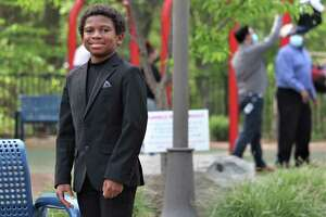 """Chase W. Dillon,   11, is one of the   stars of the new Amazon limited series """"The Underground Railroad,"""" directed by Academy Award winner Barry Jenkins. The kid from central Connecticut is collecting great reviews."""