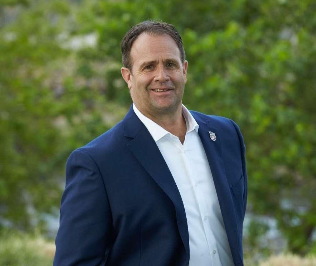 Longtime Shelton resident and retired police officer David Eldridge, a Democrat, is running against incumbent Republican Mayor Mark Lauretti this November.