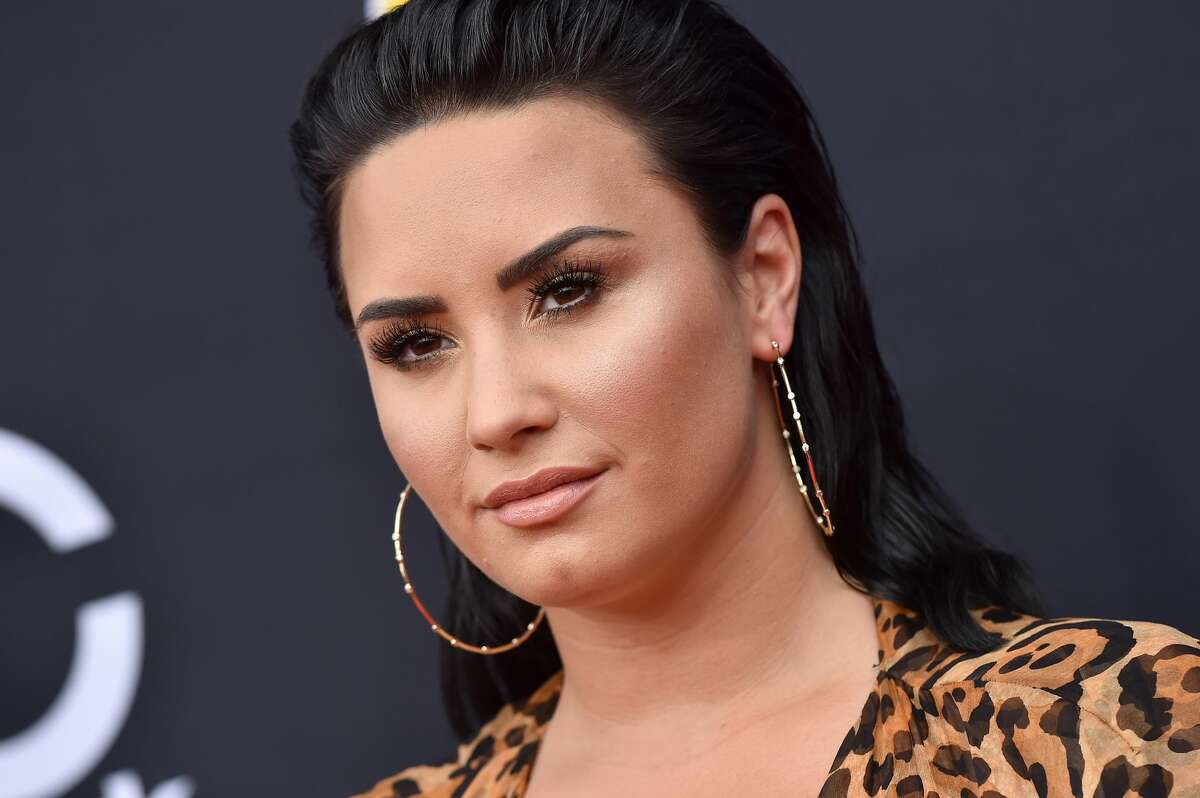 Pop star Demi Lovato attends the 2018 Billboard Music Awards at MGM Grand Garden Arena on May 20, 2018 in Las Vegas, Nevada.