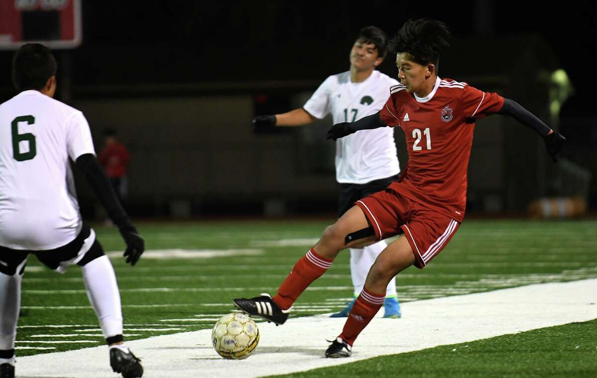 Spring and Aldine ISD boys soccer coaches released the All-District 14-6A teams following the conclusion of each team's 2020-21 regular season and postseason. Westfield High had three athletes named honorable mention including junior midfielder Cyrus Ng (21).