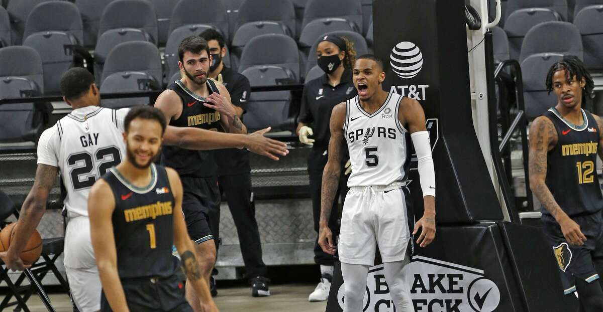 The Spurs chances of entering the traditional 2021 NBA postseason hang on the outcome of Wednesday night's play-in game against the Memphis Grizzlies.