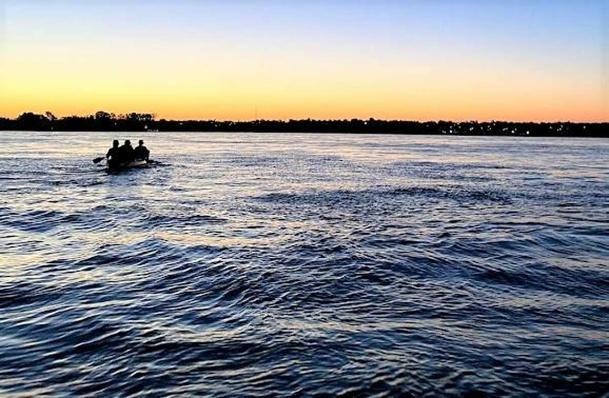 On Tuesday, the foursome of Rod Price, Bobby Johnson and father-daughter duo Kirk and Casey Millhone - known as Team MMZero - set a record by paddling the length of the Mississippi River in 17 days, 19 hours and 46 minutes, about nine hours faster than the record set in 2003.