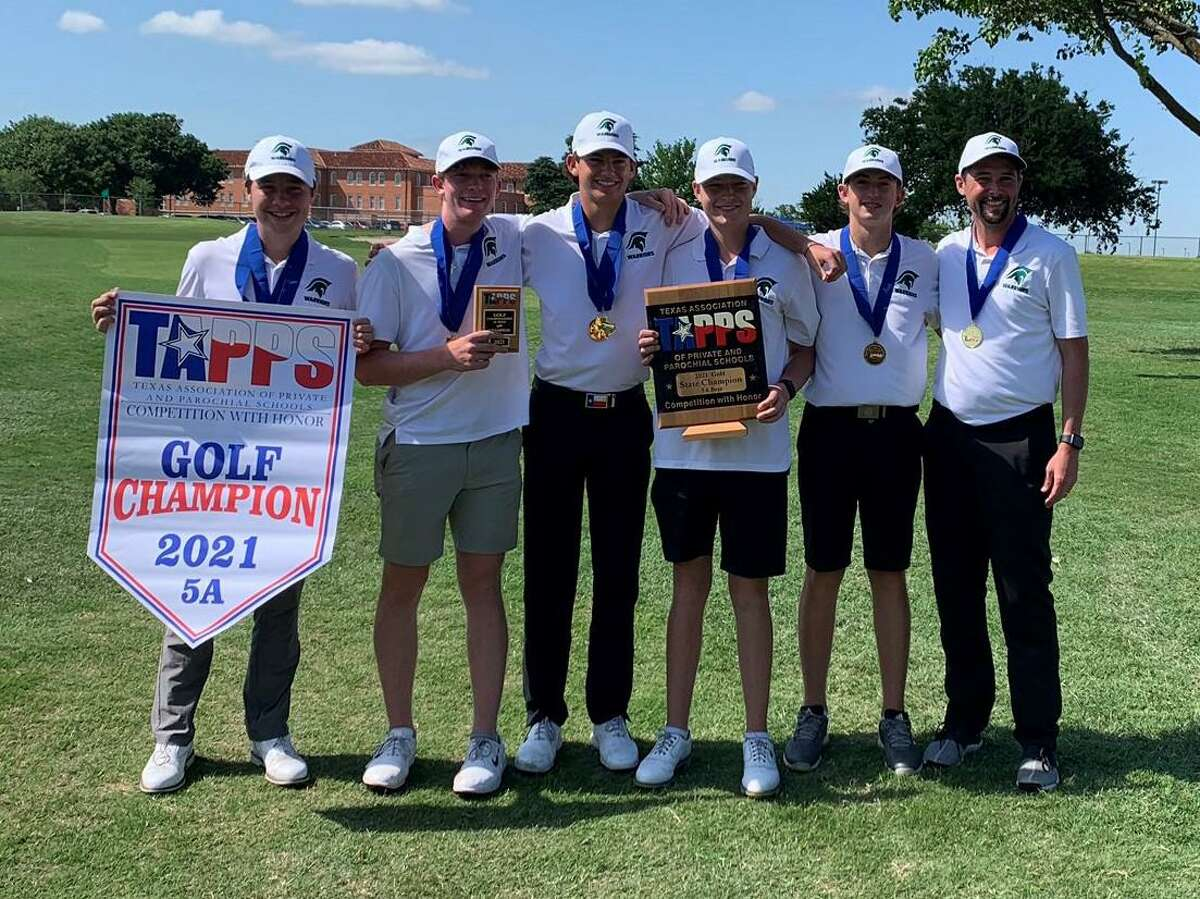 The Woodlands Christian Academy golf team won the TAPPS Class 5A state championship recently.