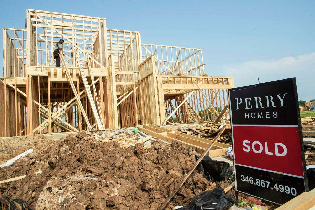 Supply chain issues are hampering housing production.