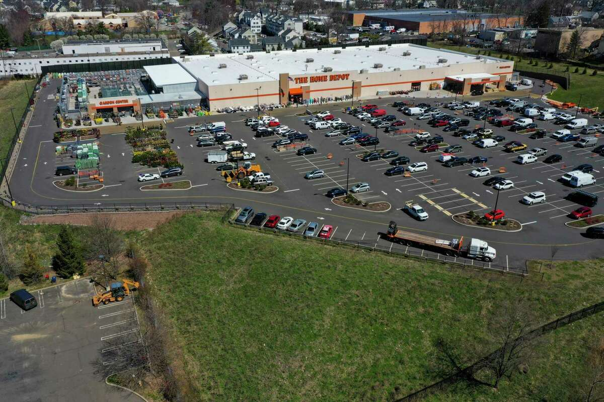 The Home Depot in Stamford, Conn.