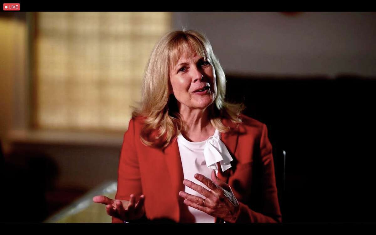 Cindy Yeilding underwent emergency pacemaker surgery in 2020 and was recognized as the American Heart Association 2021 Houston Go Red for Women honored survivor.