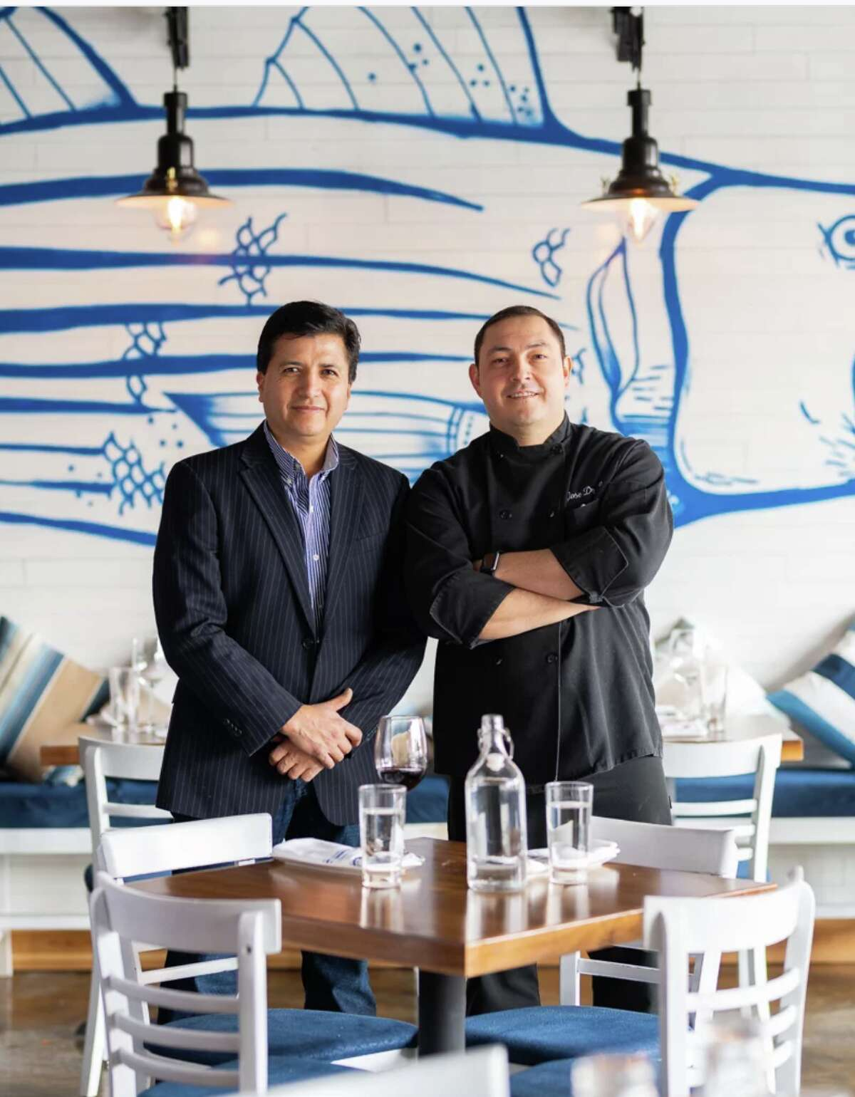 Restaurateur Wilson Rodriguez and chef Jose Draganac, the co-owners of New Cannan's Pesca Peruvian Bistro, are opening Ayahuasca Peruvian Cuisine in Norwalk this June.