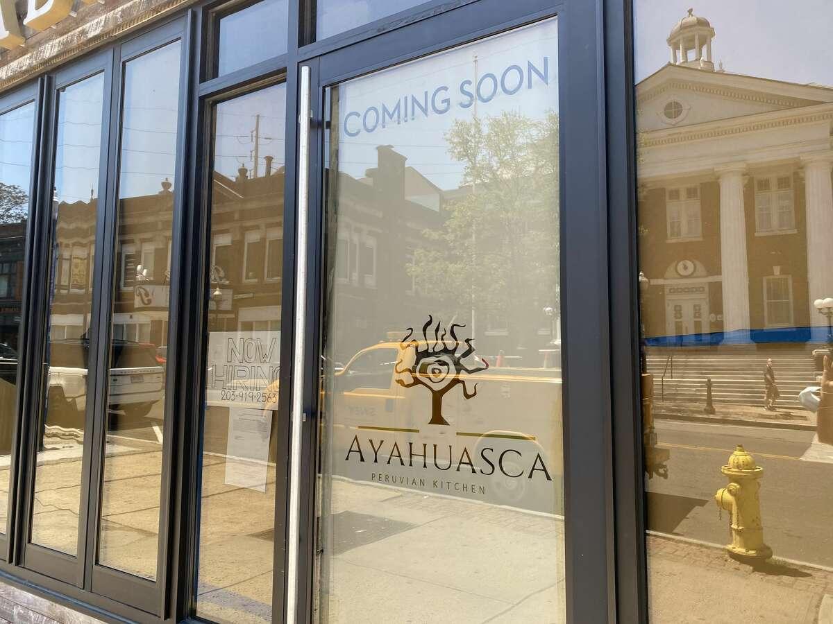 Ayahuasca Peruvian Cuisine will open at 46 North Main Street in Norwalk mid-June 2021.