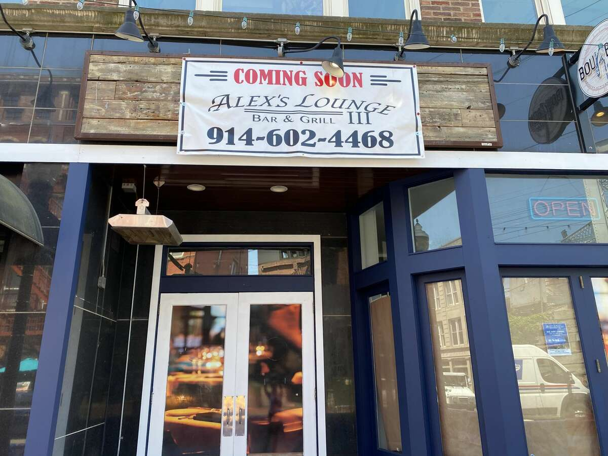Alex's Lounge III is opening at 80 Washington St. in Norwalk May 2021. There are two locations of Alex's Lounge just across the state border in White Plains and Elmsford, N.Y.