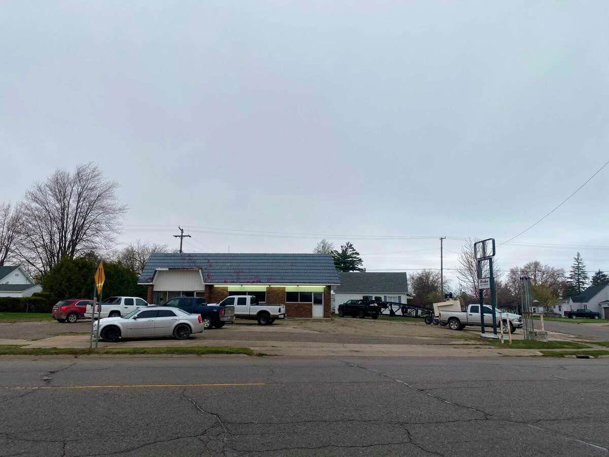 This former Marathon gas station will soon house the A2B full service car repair facility and used car dealership. The owner, Danny Bambach, hopes to have it open by the middle of June. (Danny Bambach/Courtesy Photo)