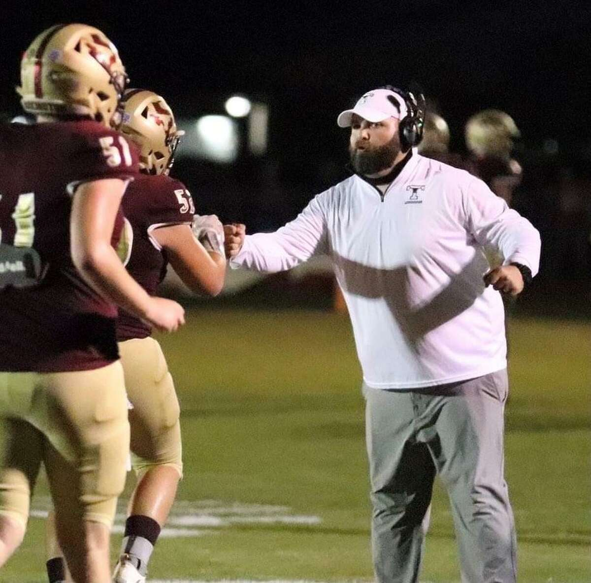 Zach Bass is stepping down as athletic director and head football coach at Tarkington to join Chuck Langston's staff at West Brook.