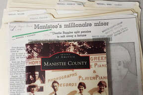 """During the 19th century, Manistee County claimed to have more millionaires per capita than anywhere in the United States, according to the City of Manistee's website section on the area's history. The library has biographies in the pamphlet file on T.J. Ramsdell and family, William Douglas and Charlie Ruggles, known as """"Manistee's Millionaire Miser."""""""