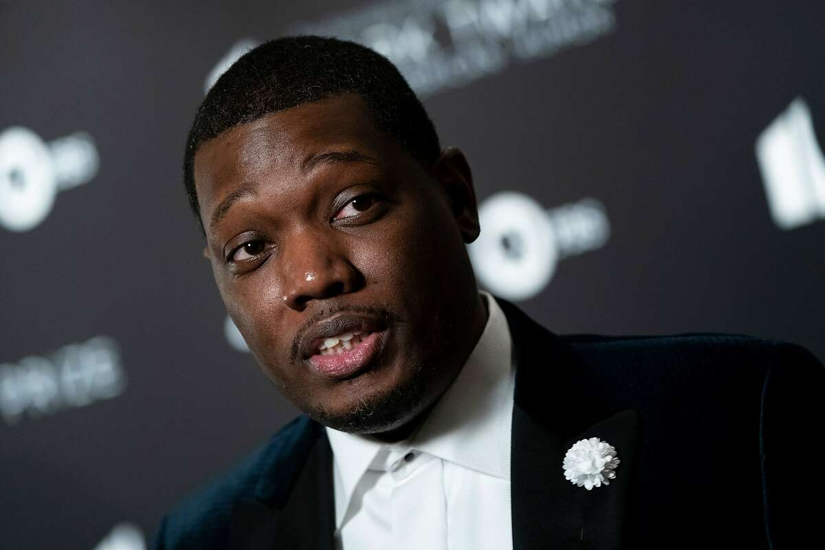 Comedian Michael Che arrives at the Kennedy Center for the Mark Twain Award for American Humor on Oct. 27, 2019, in Washington, D.C. The award recipient is comedian Dave Chappelle. (Alex Edelman/AFP via Getty Images/TNS)