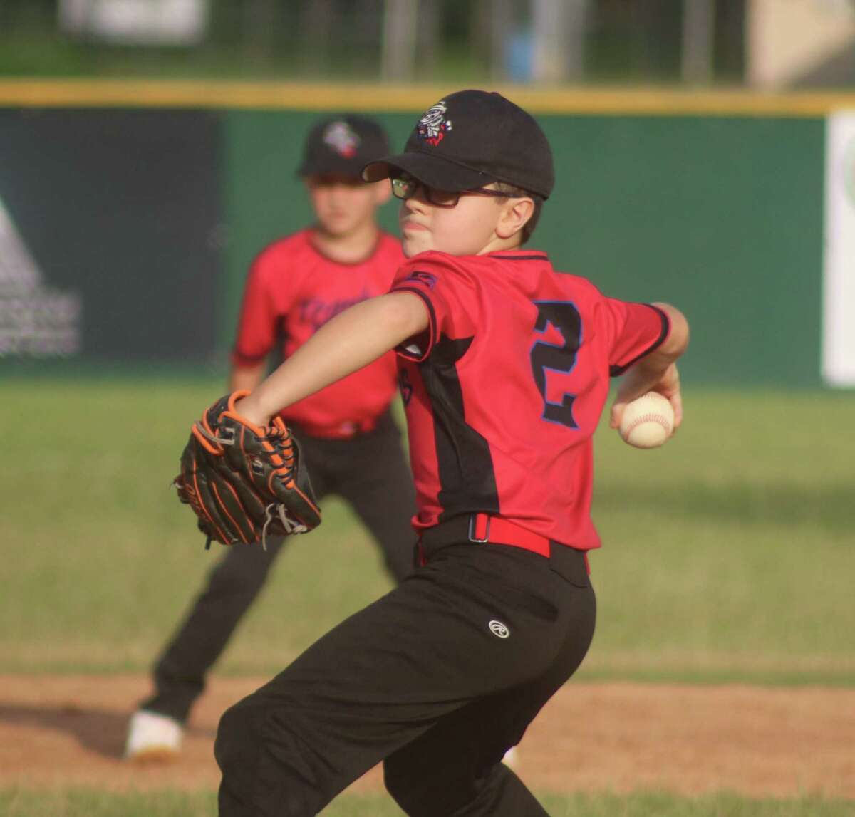Trash Pandas hurler Quinn Toler struck out five of the first six batters he faced Tuesday night. He credits a target on his backdoor at home for his strong control.