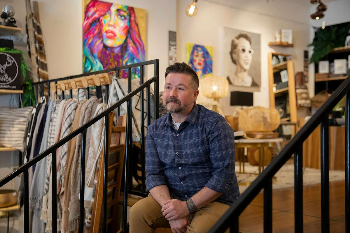 """Stag & Manor owner Seth Morrison says the vandalism of his store """"was demoralizing because 2020 has been a tough year."""""""