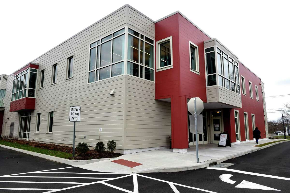 The E.C. Scranton Memorial Library in Madison