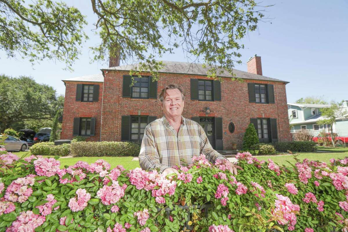 """Dennis McNabb knew his Galveston home was designed by John Staub, then later learned that C.C. """"Pat"""" Fleming created its original landscaping."""