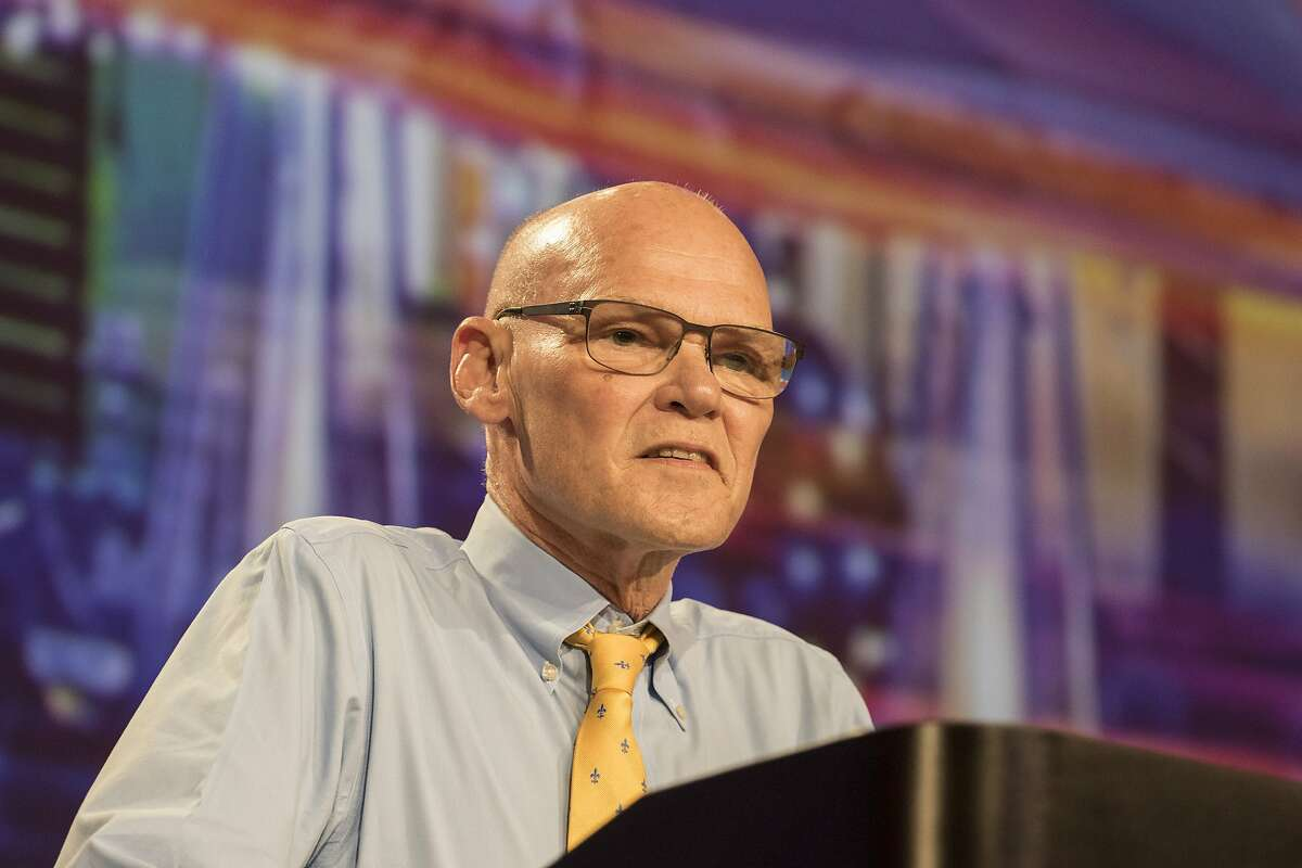 James Carville says words like