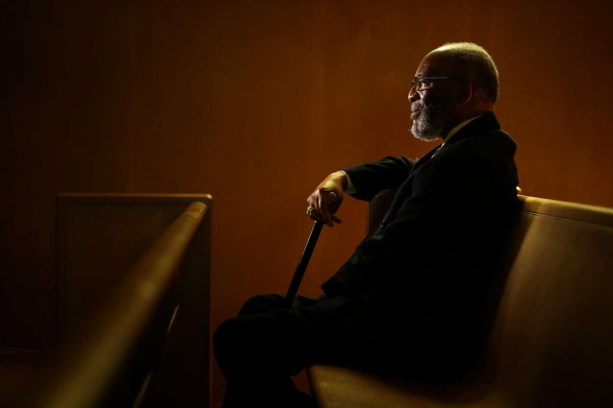 Rev. Amos Brown, 80, pastor of Third Baptist Church of San Francisco and president of the SF Chapter of the NAACP.