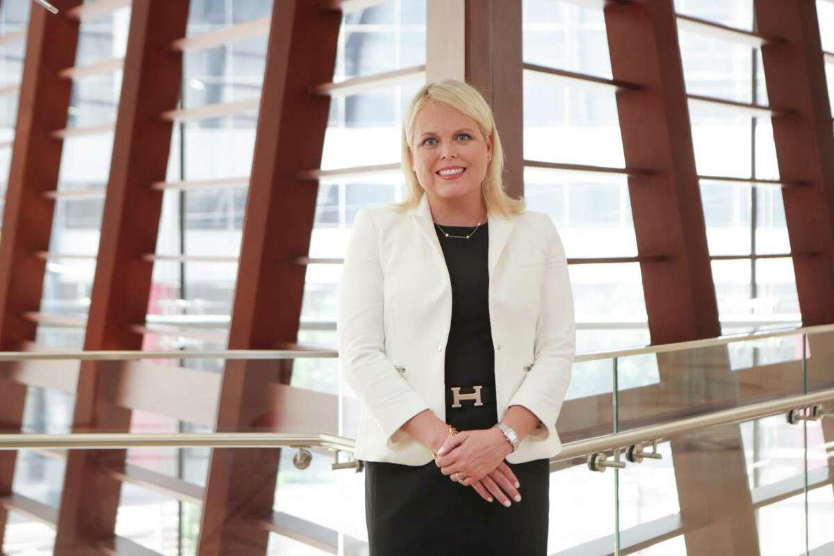 Julie Sudduth, regional president for PNC Bank Thursday, May 6, 2021, in Houston.