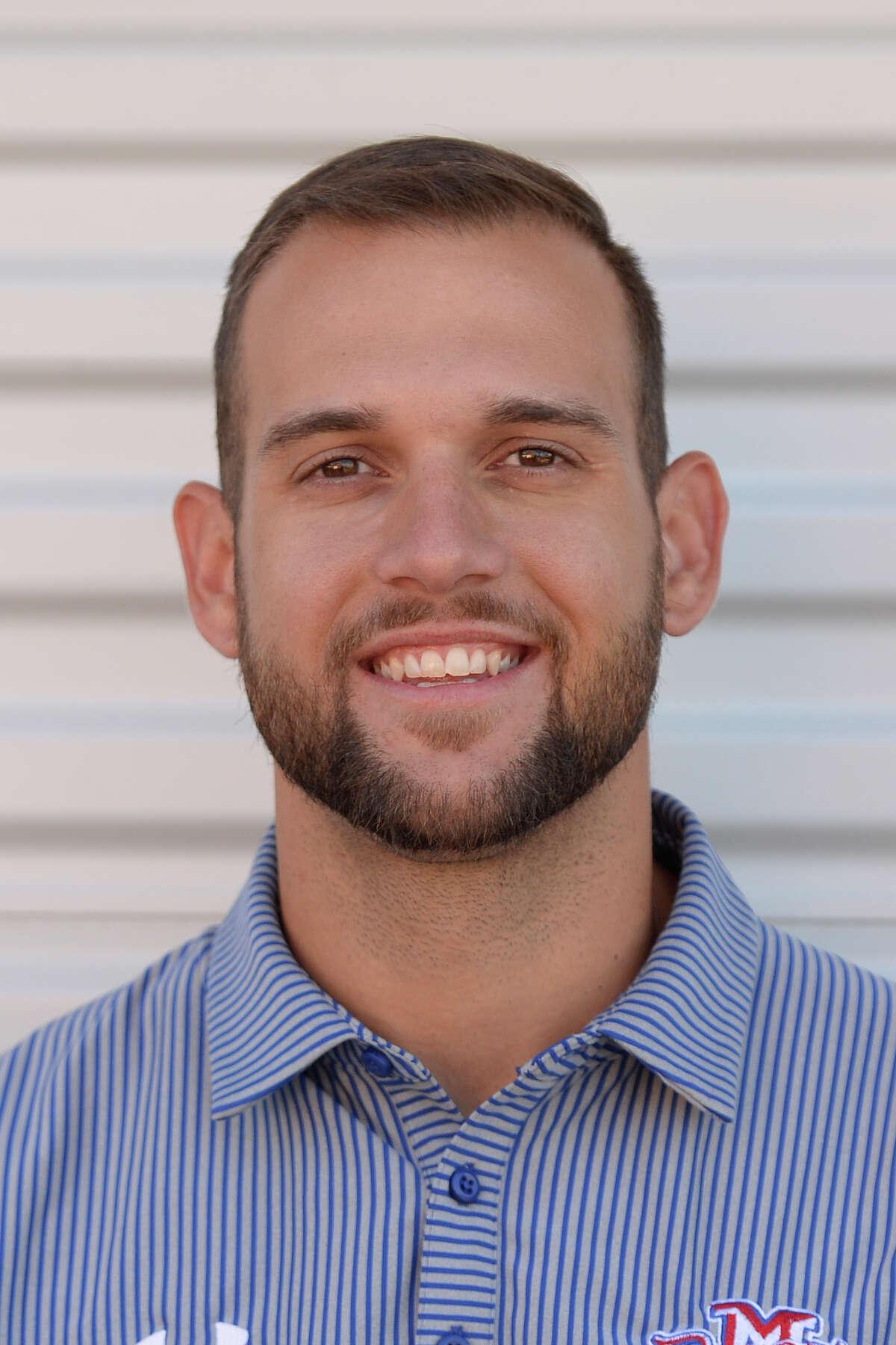 Midland Christian football mugs 2017 - coach Tyler Fleet James Durbin/Reporter-Telegram