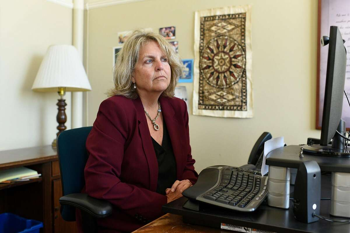 Sherry Williams, executive director of One Treasure Island, has had little success in recovering $650,000 in stolen funds.