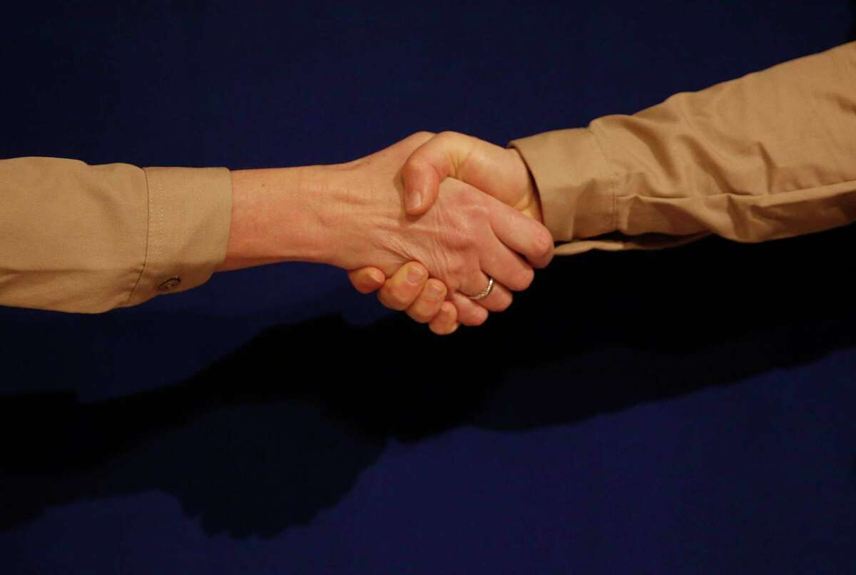 Even before the pandemic, handshakes were seen as a major way to spread disease, according to health experts, who say this form of greeting should still be avoided.