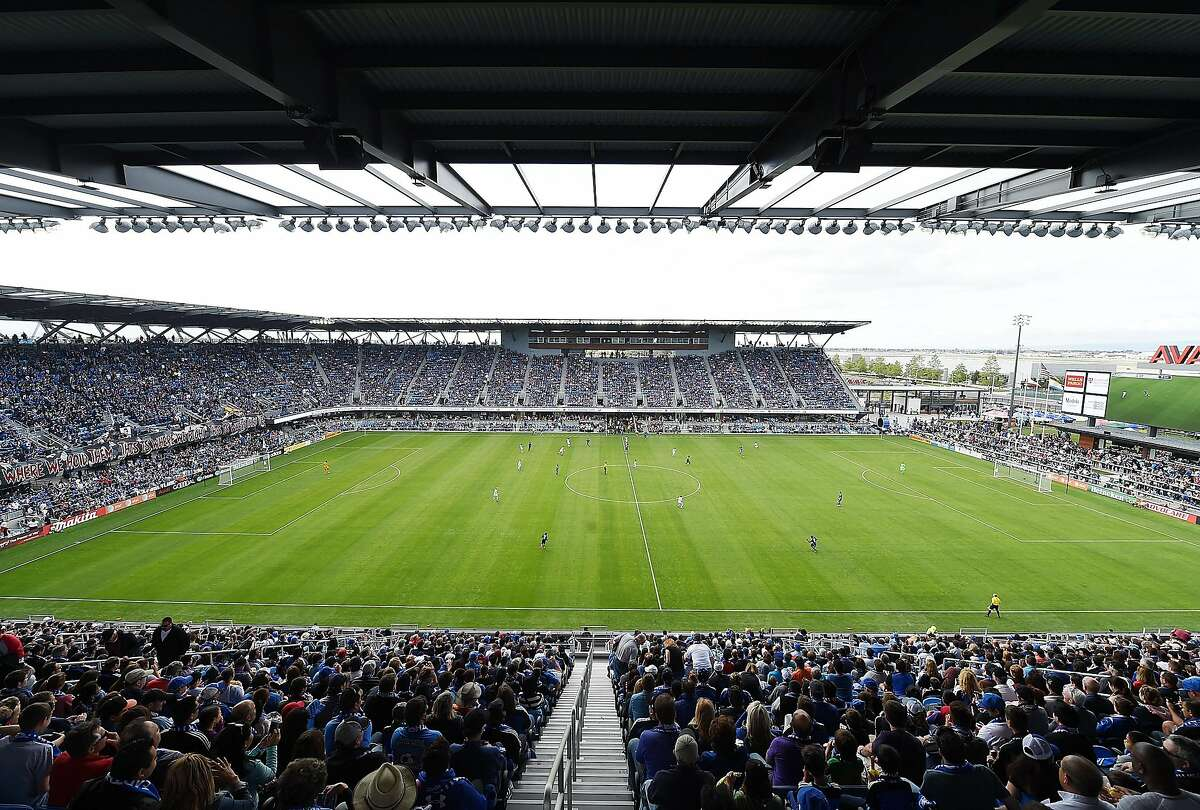 SAN JOSE, CA - MARCH 22: A general view of Avaya Stadium during an MLS game between the Chicago Fire and San Jose Earthquakes on March 22, 2015 in San Jose, California. (Photo by Thearon W. Henderson/Getty Images)