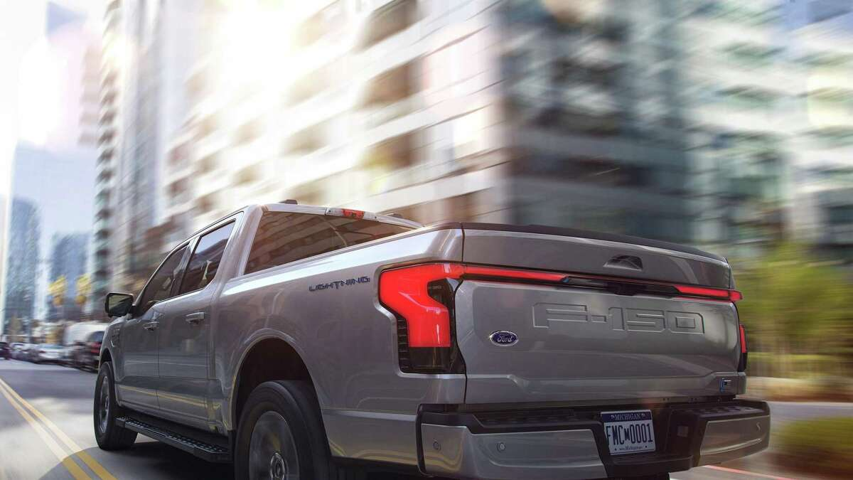The 2022 Ford F-150 Lightning. (Ford Motor Co./TNS)