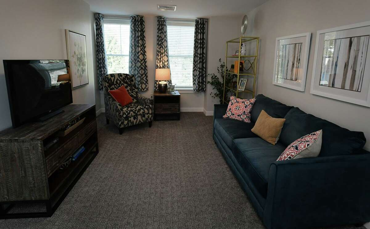 A one-bedroom unit at a senior living facility in Westport.