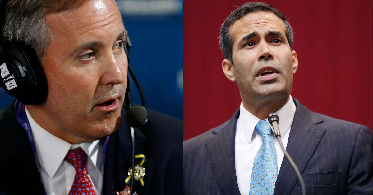 Ken Paxton and George P. Bush might face off in 2022's attorney general race. For now, an embattled Paxton is already downplaying his would-be opponent.
