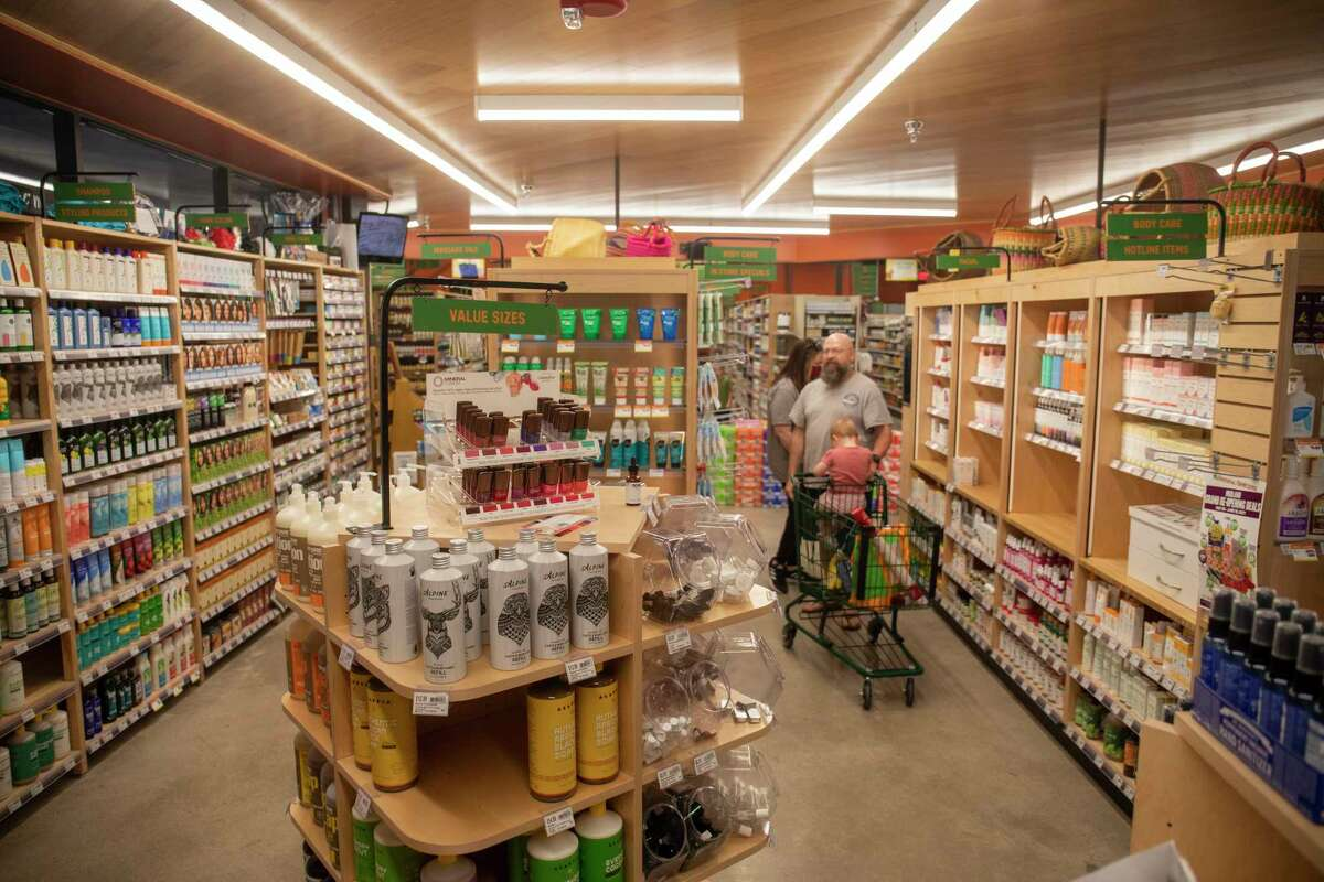 Shopper experienced the new Natural Grocers store during the grand opening Thursday, May 20, 2021 at 3001 Loop 250 Frontage Road. Jacy Lewis/Reporter-Telegram