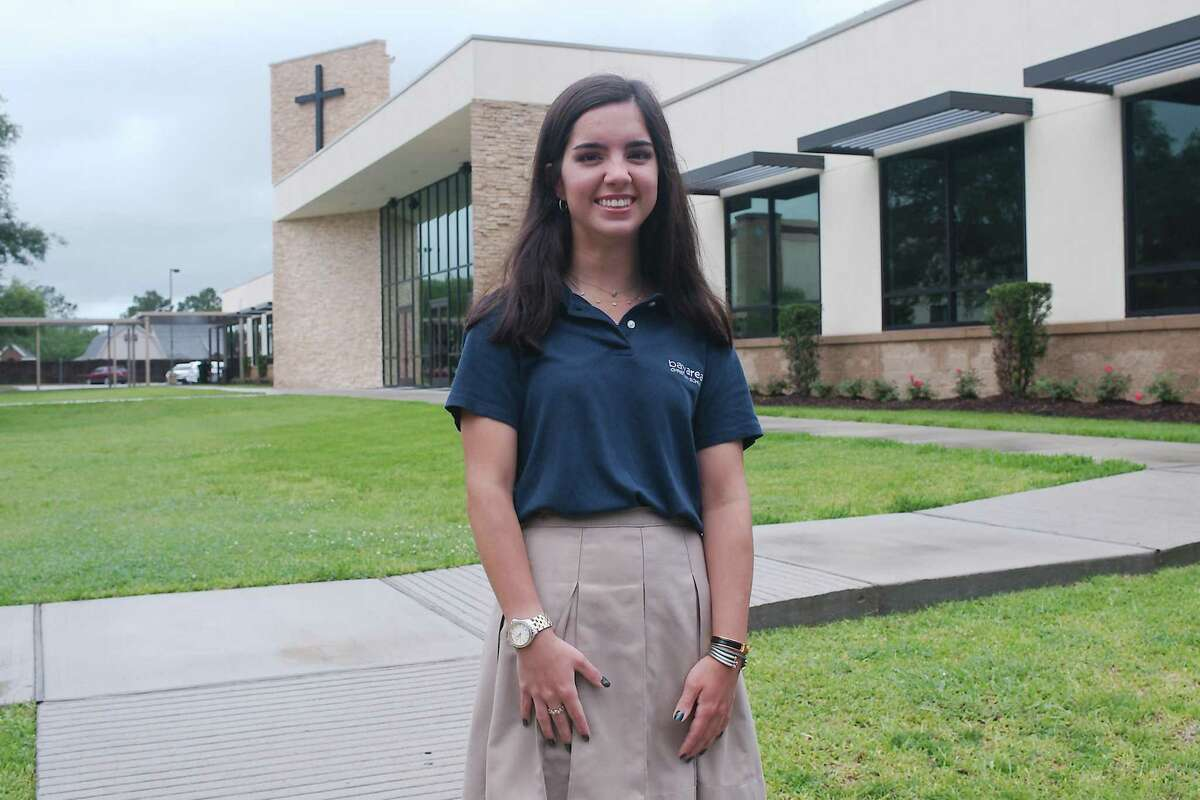 Bay Area Christian graduating senior Zoe Dominguez plans on continuing volunteer work when she attends Dartmouth College in the fall. At BAC, she put in more than 660 hours of volunteer service for various local organizations.
