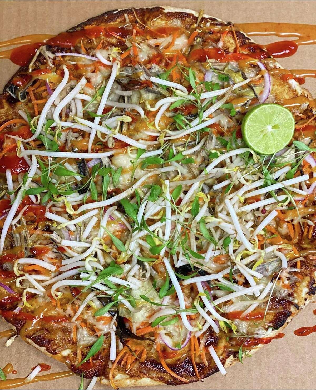 Thai Blossom pizza from Verdine.