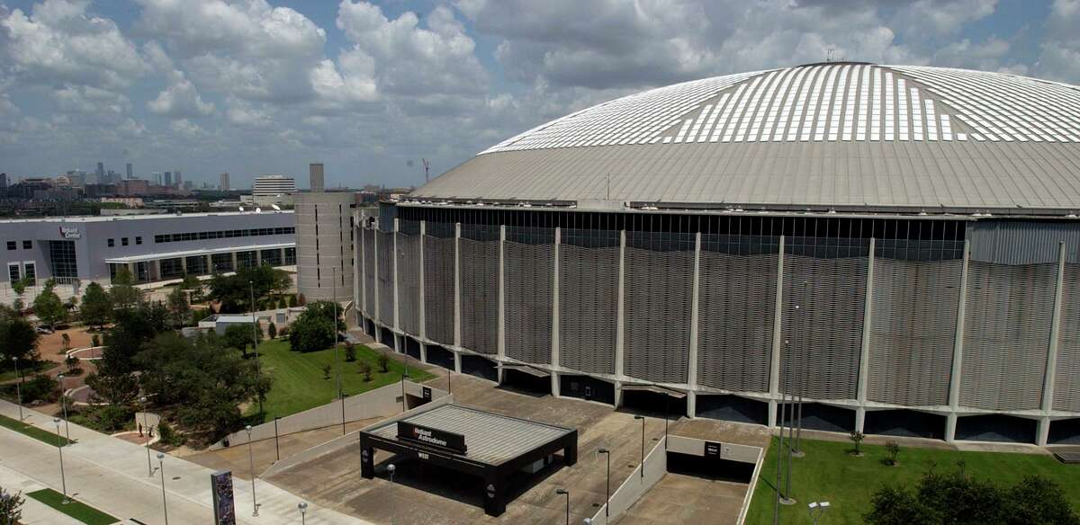 The Reliant Park Astrodome as seen from Reliant Stadium. People are now beginning to wonder about the buildings future after Houston's bid for the 2012 Olympics fell short earlier in the year. 8/04/03 Karl Stolleis/Houston Chronicle