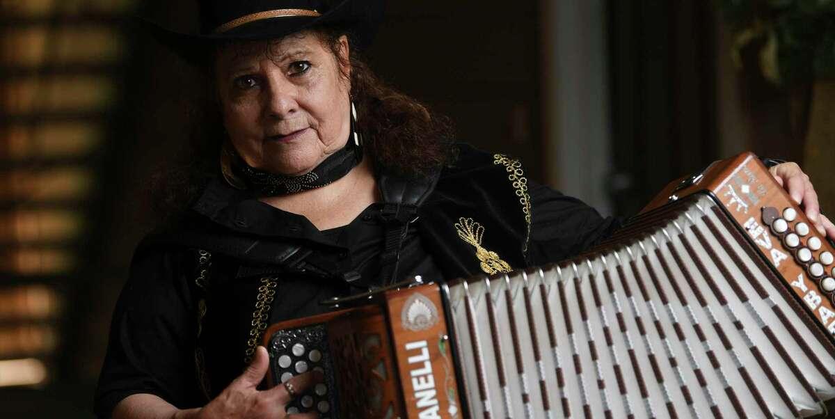 Eva Ybarra is part of the lineup of Saturday's Tejano Conjunto Festival livestreamed concert.